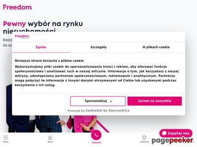 Freedom nieruchomości