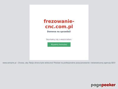 Www.frezowanie-cnc.com.pl - Frezowanie CNC Śląsk