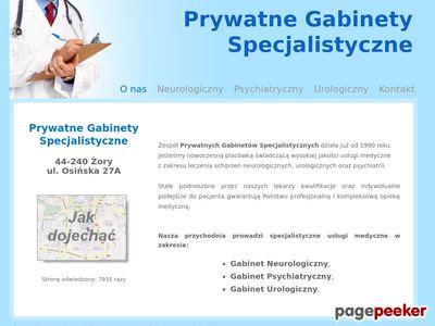 Neurolog, Urolog, Psychiatra Żory