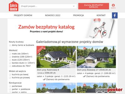 Gotowe PROJEKTY DOMÓW jednorodzinnych | GaleriaDomow.pl