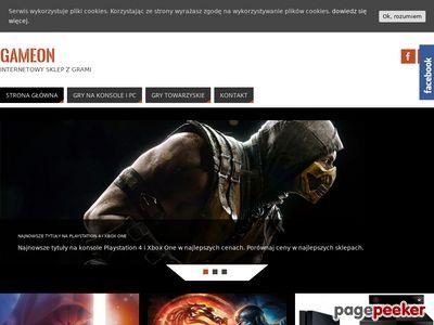 Sklep GameOn - gry i konsole