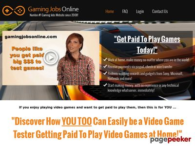 Video Game Tester Jobs – Get Paid To Test Games