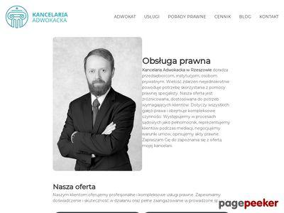 Kancelaria Adwokacka Adwokat Rzeszów