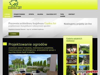 Projektowanie ogrodów - Szczecin - GardenArt