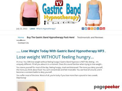 Buy The Gastric Band Hypnotherapy Pack Today! - The Hypnotic Weight Loss Solution