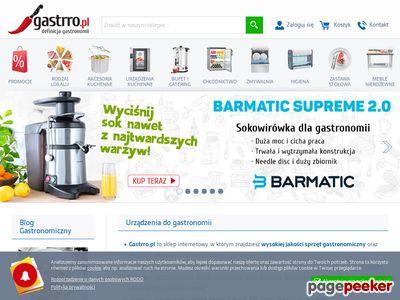 Wyposażenie do gastronomii – Gastrro.pl