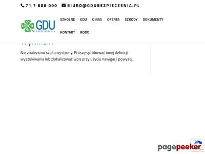 GDU Wrocław - Uniqa