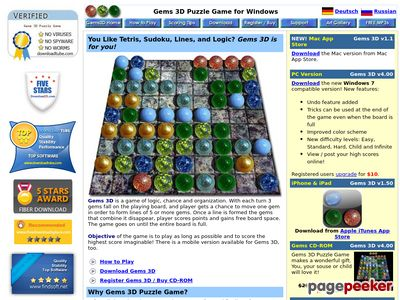 Gems 3D Puzzle Game for Mac and Windows – The Game of Chance and Organization