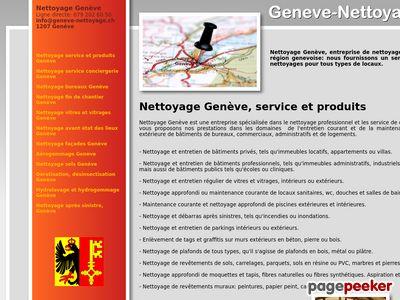 Genève Nettoyage - A visiter!