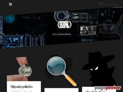 Germano.pl Podsłuchy, CCTV, kamery szpiegowskie