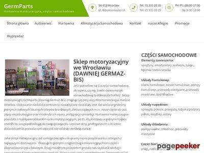 Germaz-Bis - Sklep Motoryzacyjny Wrocław