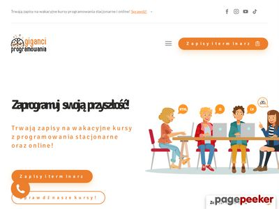 Giganciprogramowania.edu.pl - zajęcia dla dzieci