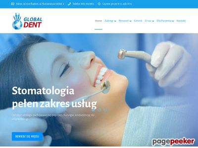 Dentysta Radom Stomatolog Global Dent
