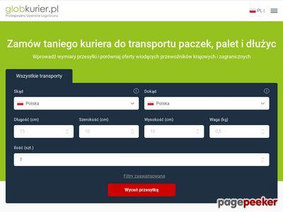 GlobKurier.pl - profesjonalny serwis przesyłek kurierskich