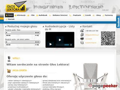 usługi lektorskie gloslektopra.pl