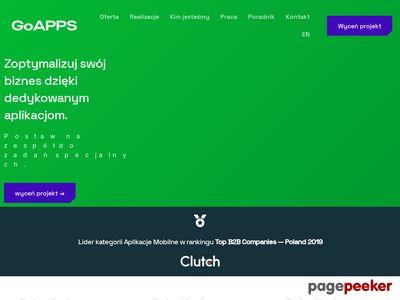 GoApps - mvp aplikacje mobilne