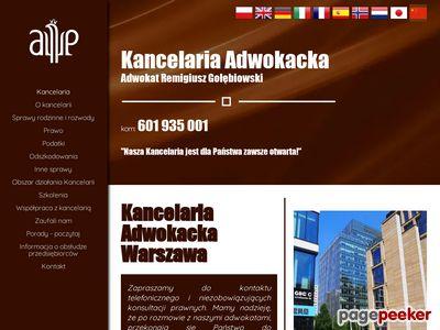 Kancelaria adwokacka Warszawa, adwokat warszawa, Rechtsanwalt