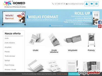 Drukarnia Gomeo - teczki dla handlowców