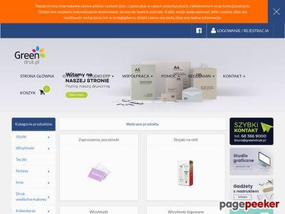 Drukarnia Internetowa - GREENDRUK.PL