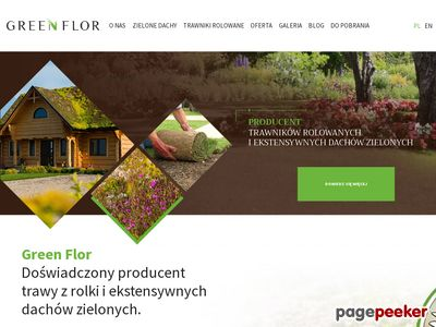 XERO FLOR POLSKA trawnik w rolce