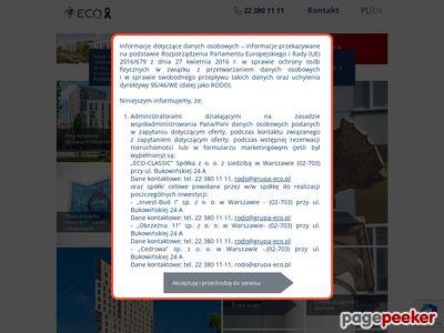 Developer Warszawa Eco-classic