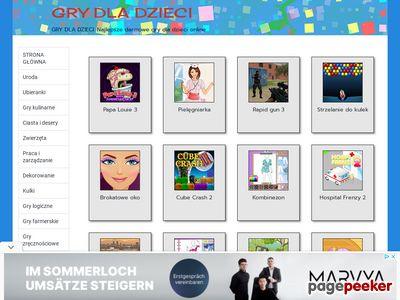 GRY DLA DZIECI. Najlepsze darmowe gry dla dzieci online