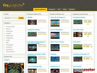 Grylogiczne.pl gry logiczne i planszowe