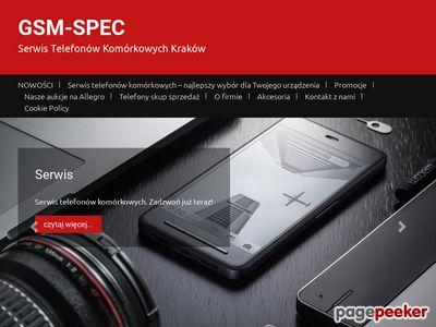 Telefony komórkowe Kraków - Gsm-spec