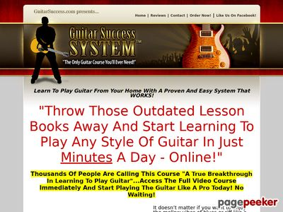 Guitar Success System - The Only Guitar Course You'll Ever Need!