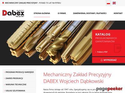 DABEX - narzędzia skrawające do metalu.