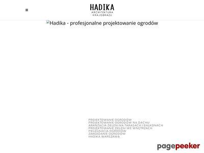 Hadika - projektowanie i urządzanie ogrodów Warszawa