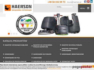 Haerson - Urządzenia czyszczące