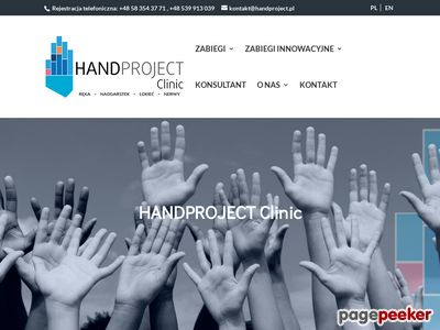 Chirurgia ręki Gdańsk - handproject.pl