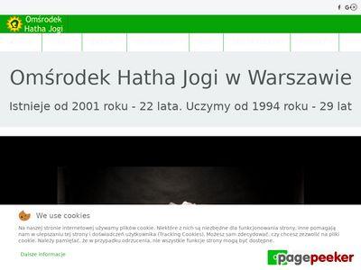 Omśrodek Hatha Jogi: Joga Warszawa, Hatha joga