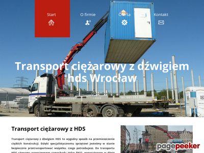 Transport hds Wrocław - hdsdzwigtransport.com