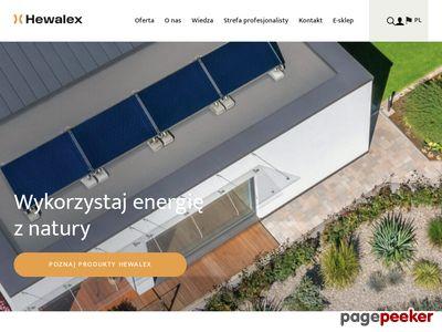Kolektory słoneczne Hewalex