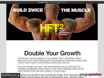 HFT2 – – Build 2WICE the Muscle – Chad Waterbury