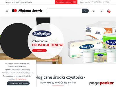 Środki czystości Warszawa - HigienaSerwis.pl