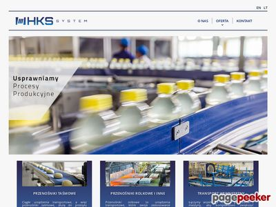 HKS Projekt - logistyka przenośników taśmowych
