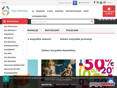 Gry planszowe karciane HOBBITY.pl