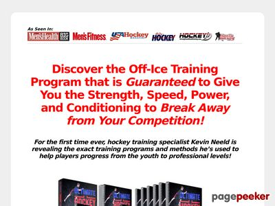 Ultimate Hockey Transformation - Year-round off-ice training programs to help you transform your game, development, and career!