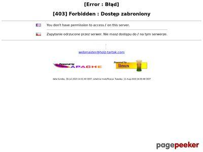 Holz-tartak.com domy drewniane