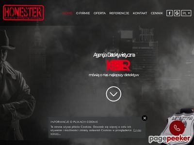 Agencja Detektywistyczna HONESTER detektyw Warszawa