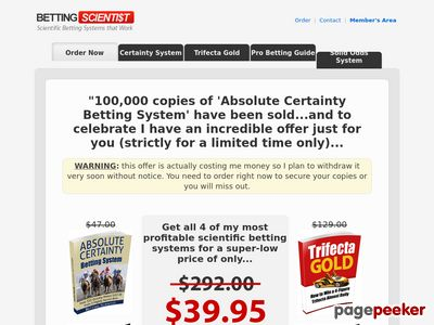 Horse Betting Racing System Secrets Revealed