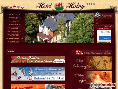 Hotel Karpacz Halny - hotele w sercu Karkonoszy