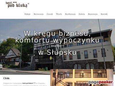 Hotel Słupsk - Hotel pod Kluką. Konferencje Słupsk, Noclegi Słupsk. Wesele Słupsk