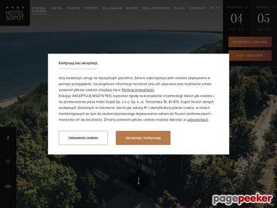 Hotel w Sopocie blisko plaży