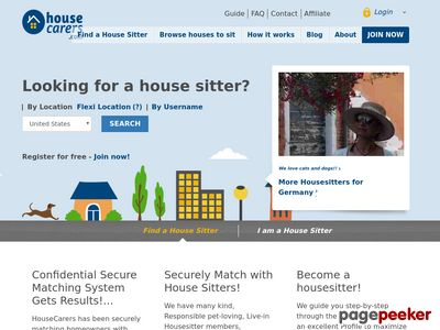 Find House Sitters – House Sitting Guide USA Australia Canada NZ UK worldwide