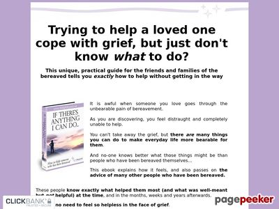 How To Help With Grief – If There's Anything I Can Do-How to help the bereaved
