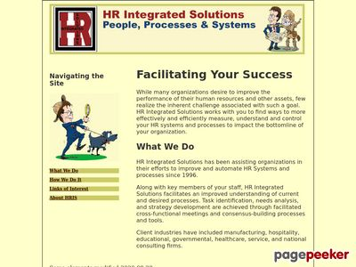 The Human Resource Professional's Gateway to the Internet by Eric R. Wilson Screenshot